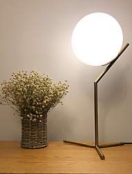 cheap -Table Lamp / Desk Lamp Decorative Metallic / Contemporary / Nordic Style LED power supply For Bedroom / Study Room / Office Metal 110-120V / 220-240V