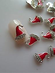 cheap -5 pcs Multi Function Metal Alloy Nail Jewelry For Creative nail art Manicure Pedicure Christmas / Festival Fashion