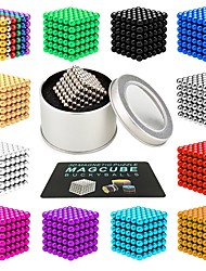 cheap -216 pcs 3mm 5mm Magnet Toy Magnetic Balls Magnet Toy Building Blocks Super Strong Rare-Earth Magnets Neodymium Magnet Neodymium Magnet Magnetic Stress and Anxiety Relief Office Desk Toys Relieves