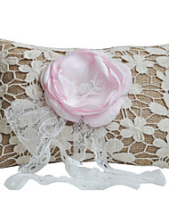 cheap -Fabric Floral Linen Ring Pillow Pillow All Seasons