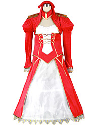 cheap -Inspired by Fate / Grand Order FGO Nero Claudius Anime Cosplay Costumes Japanese Cosplay Suits Patchwork Dress More Accessories Costume For Men's Women's