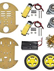 abordables -nouveau produit / type de disque châssis de voiture intelligente / deux roues