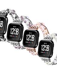 Недорогие -Металлический корпус Ремешок для часов Ремень для Apple Watch Series 4/3/2/1 Черный / Серебристый металл / Фиолетовый 23см / 9 дюйма 2.1cm / 0.83 дюймы
