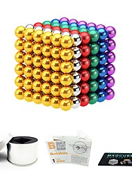 cheap -216 pcs 5mm Magnet Toy Magnetic Balls Magnet Toy Building Blocks Super Strong Rare-Earth Magnets Neodymium Magnet Magnetic Stress and Anxiety Relief Office Desk Toys Relieves ADD, ADHD, Anxiety