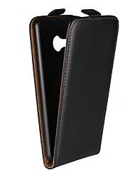 cheap -Case For HTC HTC U Ultra / HTC U Play / HTC One M9 with Stand / Flip Full Body Cases Solid Colored Hard Genuine Leather