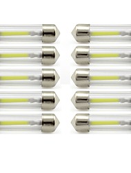 cheap -10pcs 41mm Car Light Bulbs 1 W COB 85 lm 1 LED Interior Lights / Exterior Lights For universal Universal / KX5 Universal