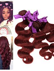 cheap -3 Bundles Malaysian Hair Body Wave Remy Human Hair Human Hair Extensions 10-26 inch Human Hair Weaves Soft Best Quality New Arrival Human Hair Extensions / 10A