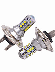 cheap -2pcs H7 Car Light Bulbs 50 W High Performance LED 5000 lm Headlamps For universal All Models All years