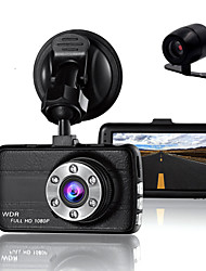 cheap -Double Lens Dash Cam Camera DVR Car for Drivers Full HD 1080 P Recorder Camera with Night Vision G-Sensor