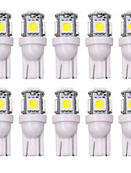 cheap -SO.K 10pcs T10 Car Light Bulbs 5 W 160 lm LED Interior Lights