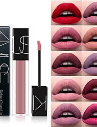 abordables -1 pcs 12 couleurs Maquillage Quotidien Lèvres Humide Longue Durée Maquillage Cosmétique Regalos de Navidad / Occasion spéciale / Entraînement Accessoires de Toilettage