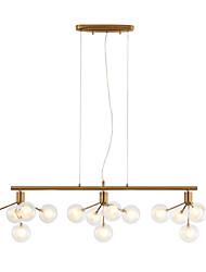 Недорогие -ZHISHU Спутник Люстры и лампы Рассеянное освещение Электропокрытие Металл Стекло LED, Новый дизайн 110-120Вольт / 220-240Вольт Теплый белый / Белый
