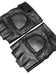 cheap -Half-finger All Motorcycle Gloves Polyurethane Leather Quick Dry / Non Slip