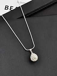 cheap -Women's Necklace Retro Fashion Alloy Silver 48 cm Necklace Jewelry 1pc For Daily Formal