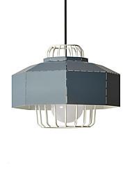 Недорогие -25 cm Новый дизайн Подвесные лампы Металл геометрический Окрашенные отделки Современный 110-120Вольт / 220-240Вольт