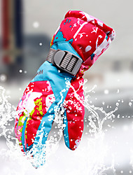 cheap -Winter Gloves Ski Gloves Women's Snowsports Full Finger Gloves Winter Windproof Breathable Warm Waterproof Fabric Waterproof Material Ski / Snowboard Hiking Ice Skating