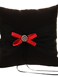 cheap -Plain Sateen Bowknot Satin Ring Pillow Pillow All Seasons