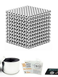 cheap -1000 pcs 3mm Magnet Toy Magnetic Balls Building Blocks Super Strong Rare-Earth Magnets Neodymium Magnet Neodymium Magnet Magnetic Stress and Anxiety Relief Office Desk Toys Relieves ADD, ADHD