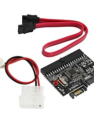 cheap -IDE to SATA 2-Port Adapter Card