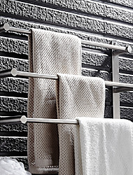 cheap -Towel Bar Multilayer Modern Stainless Steel 1pc - Bathroom / Hotel bath 3-towel bar Wall Mounted