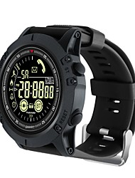 cheap -KUPENG EX17S Men Smartwatch Android iOS Bluetooth Sports Waterproof Calories Burned Long Standby Media Control Pedometer Call Reminder Activity Tracker Sleep Tracker Sedentary Reminder / Alarm Clock