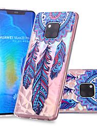 cheap -Case For Huawei Huawei Nova 3i / Huawei P smart / Huawei P Smart Plus Pattern Back Cover Dream Catcher Soft TPU