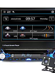 Недорогие -7-дюймовый 1-дюймовый ЖК-сенсорный экран автомобильный DVD другой высокой четкости / встроенный Bluetooth / регулятор громкости для универсальной поддержки / хранения памяти / 3D