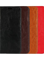 cheap -Phone Case For Motorola Full Body Case Leather Wallet Card Moto X4 MOTO G6 Moto G6 Play Moto G6 Plus Moto G5s Plus Moto G5s Moto G5 Plus Moto G5 Moto E5 Plus Moto E5 Wallet Card Holder with Stand