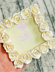 cheap -Romance / Fashion / Flower Resin Photo Frames / Ornaments / Wedding Card Holder Romance / Fashion / Flower 1 pcs All Seasons