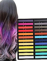 cheap -Headdress Eco-friendly Material Attachments Decorations Color-Changing / Multi Function / Best Quality 24 pcs Christmas / Halloween / Birthday Party Trendy