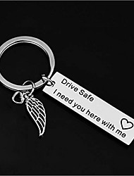 cheap -Classic Theme / Creative / Wedding Keychain Favors Stainless Keychains - 1 pcs All Seasons