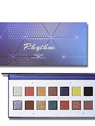 cheap -Single Colored Eyeshadow Palette Matte Shimmer EyeShadow Matte Shimmer Glitter Shine lasting smoky Long Lasting Daily Makeup Halloween Makeup Party Makeup Cosmetic Gift