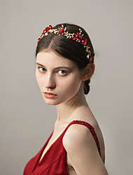cheap -Alloy Headbands with Floral 1 Piece Wedding / Party / Evening Headpiece