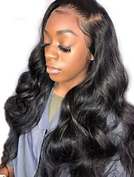 cheap -Dolago 360 Lace Frontal Wig Brazilian Body Wave 360 Human Hair Lace Front Wigs For Black Women 150% Density
