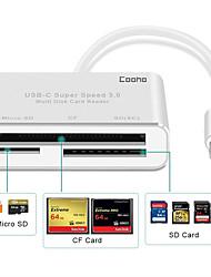 Недорогие -Сплав Серебряный USB-концентратор 7 cm