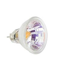 Недорогие -1шт 2 W Двухштырьковые LED лампы 230-250 lm MR11 1 Светодиодные бусины COB Тёплый белый