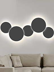 cheap -Creative LED Modern Contemporary Wall Lamps & Sconces Living Room Office Metal Wall Light 110-120V 220-240V 12/18 W