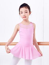 cheap -Ballet Leotards Women's / Girls' Training / Performance Elastane / Lycra Criss Cross / Gore Sleeveless Leotard / Onesie