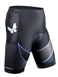 cheap -ILPALADINO Women's Cycling Padded Shorts Bike Shorts Pants Quick Dry Sports Lycra Black Clothing Apparel Bike Wear