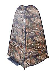 Недорогие -TANXIANZHE® 1 человек Душевые палатки На открытом воздухе С защитой от ветра Устойчивость к УФ Дожденепроницаемый Однослойный Автоматический Палатка 2000-3000 mm для