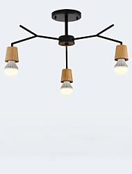 abordables -suspension simple en bois et fer dans le salon, la chambre à coucher et le salon