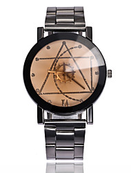 cheap -Couple's Wrist Watch Quartz Stainless Steel Black Creative Casual Watch Analog Fashion - White Black