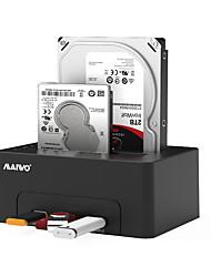 abordables -MAIWO USB 3.0 à SATA 3.0 Station d'accueil pour disque dur externe Prêt à l'emploi / avec des ports USB / Supporte la copie hors ligne 8000 GB K3082H