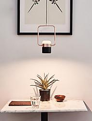 cheap -1-Light 15 cm Creative / Adjustable Pendant Light Metal Mini Electroplated / Painted Finishes Modern 110-120V / 220-240V