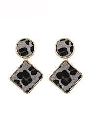 cheap -Women's Drop Earrings Vintage Style Ladies Fashion Earrings Jewelry Gray / Brown / Red For Gift Daily 1 Pair