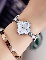 cheap -Women's Dress Watch Wrist Watch Quartz Black / Silver Casual Watch Analog Ladies Elegant Minimalist - Black / Silver White / Silver