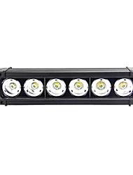 Недорогие -Для кроссовера / Для автоматического транспортера / Для трактора Лампы 60 W Высокомощный LED 5100 lm 6 Рабочее освещение Назначение