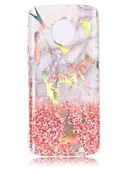cheap -Case For Motorola Moto Z3 Play / Moto X4 / MOTO G6 IMD / Pattern Back Cover Marble Soft TPU