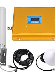 Недорогие -lcd дисплей gsm / 3g мобильный телефон сигнал повторитель сигнал усилитель сигнала 900/2100 двойной диапазон