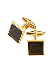 Недорогие -Запонки Формальная Нарядная одежда Брошь Бижутерия Золотой Назначение Подарок Официальные